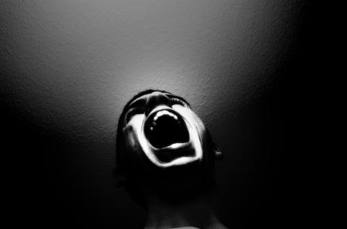 man-shout